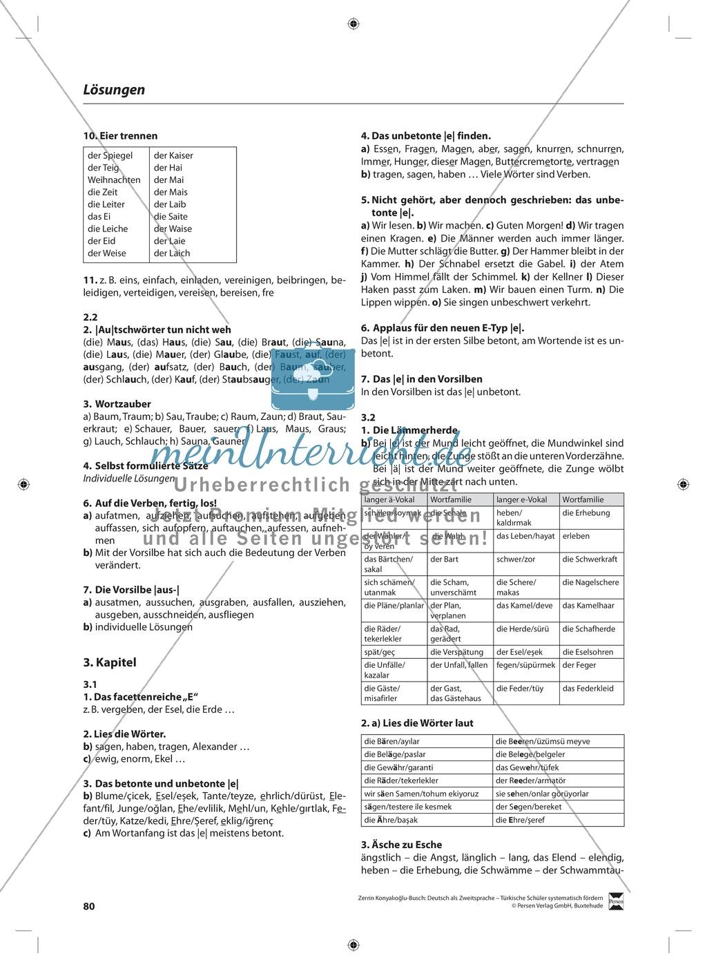 Der Diphthong: Lehrerinformationen, Arbeitsblätter und Lösungen Preview 11