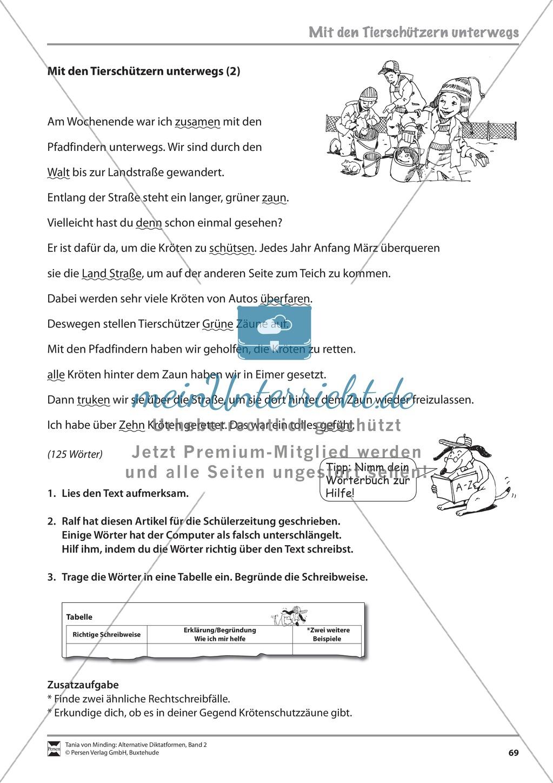 Kommentierte Diktate: Übungsblätter Preview 10