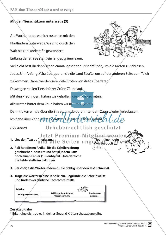 Kommentierte Diktate: Übungsblätter Preview 11