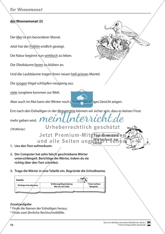 Kommentierte Diktate: Übungsblätter Preview 13
