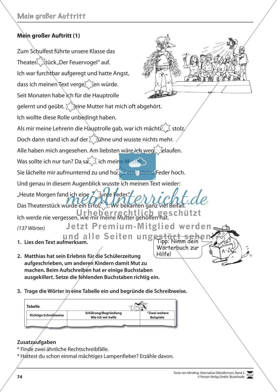 Kommentierte Diktate: Übungsblätter Preview 15