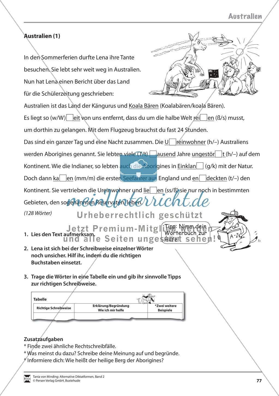 Kommentierte Diktate: Übungsblätter Preview 18
