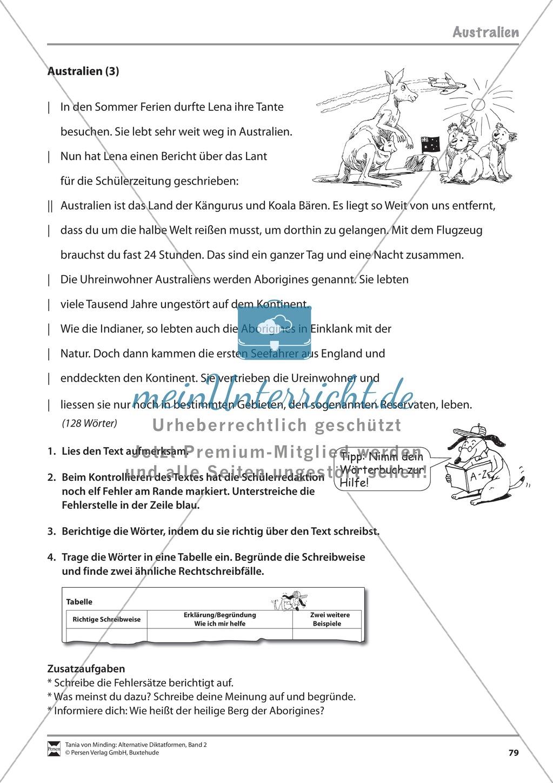 Kommentierte Diktate: Übungsblätter Preview 20