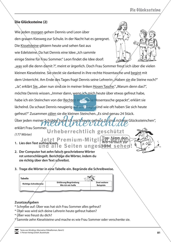 Kommentierte Diktate: Übungsblätter Preview 22