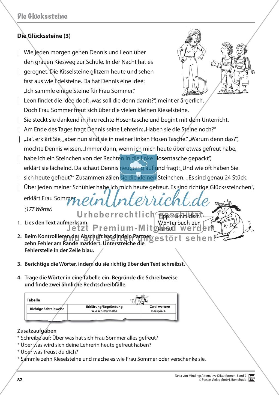 Kommentierte Diktate: Übungsblätter Preview 23