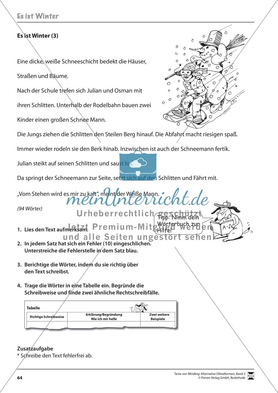 Kommentierte Diktate: Übungsblätter Preview 5