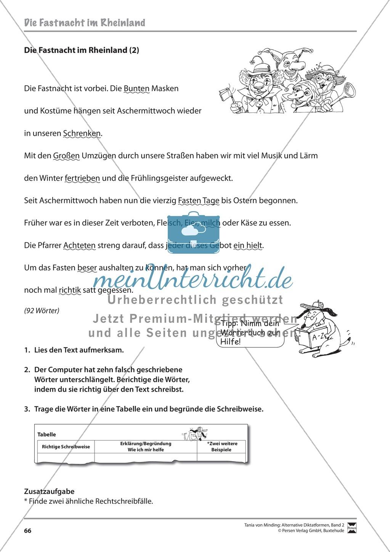 Kommentierte Diktate: Übungsblätter Preview 7