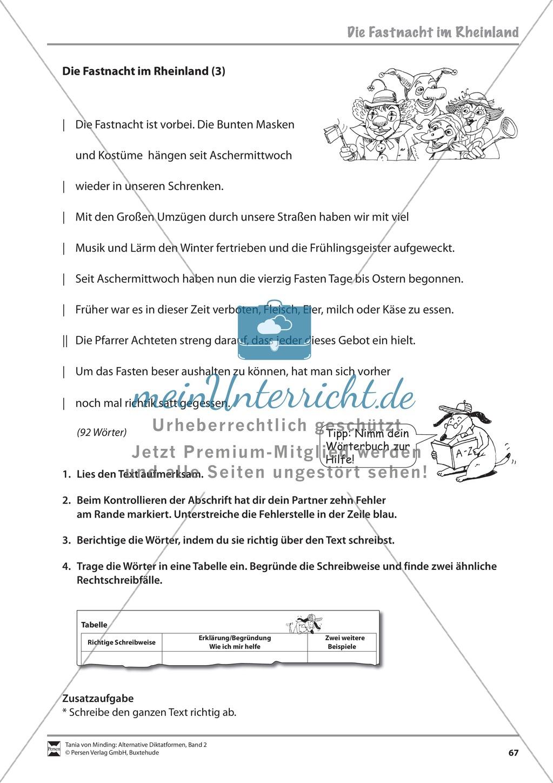 Kommentierte Diktate: Übungsblätter Preview 8