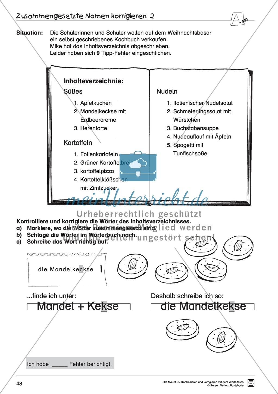 Spezifische Formen finden und Korrigieren: Übungsblätter, Selbsteinschätzungsbogen, Test und Lösungen Preview 14