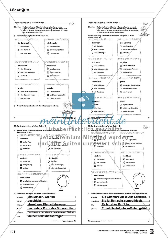 Spezifische Formen finden und Korrigieren: Übungsblätter, Selbsteinschätzungsbogen, Test und Lösungen Preview 31