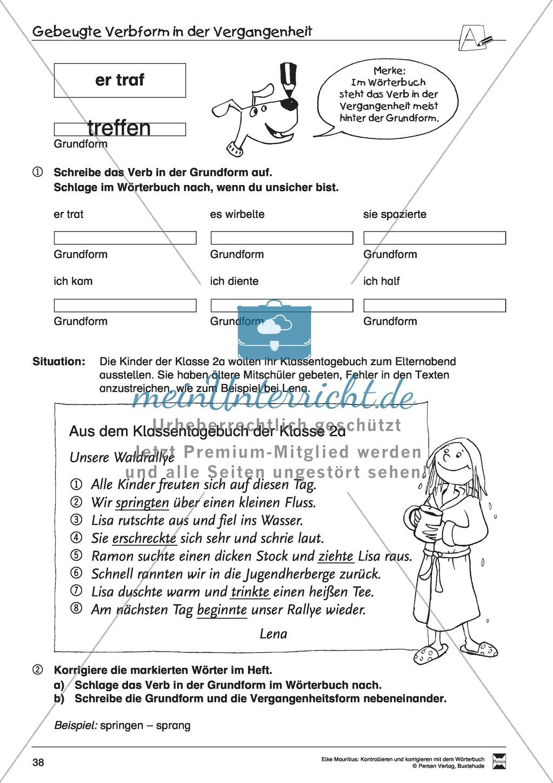 Spezifische Formen finden und Korrigieren: Übungsblätter, Selbsteinschätzungsbogen, Test und Lösungen Preview 4