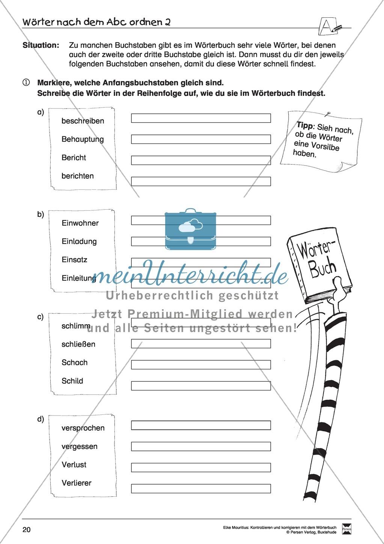 arbeitsblatt vorschule 187 rechtschreibung 3 klasse 252bungen