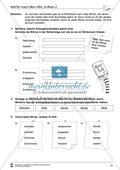 Grundlagen zur Arbeit mit dem Wörterbuch: Übungsblätter, Selbsteinschätzungsbogen, Test und Lösungen Preview 16
