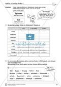 Grundlagen zur Arbeit mit dem Wörterbuch: Übungsblätter, Selbsteinschätzungsbogen, Test und Lösungen Preview 18
