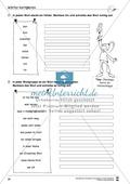 Grundlagen zur Arbeit mit dem Wörterbuch: Übungsblätter, Selbsteinschätzungsbogen, Test und Lösungen Preview 21