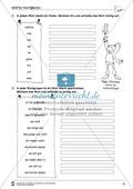 Grundlagen zur Arbeit mit dem Wörterbuch: Übungsblätter, Selbsteinschätzungsbogen, Test und Lösungen Preview 22