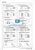 Grundlagen zur Arbeit mit dem Wörterbuch: Übungsblätter, Selbsteinschätzungsbogen, Test und Lösungen Preview 31