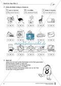 Grundlagen zur Arbeit mit dem Wörterbuch: Übungsblätter, Selbsteinschätzungsbogen, Test und Lösungen Preview 3