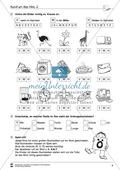 Grundlagen zur Arbeit mit dem Wörterbuch: Übungsblätter, Selbsteinschätzungsbogen, Test und Lösungen Preview 4
