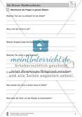 Die Bremer Stadtmusikanten: Text (schwer) und Aufgaben Preview 3