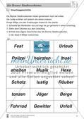 Die Bremer Stadtmusikanten: Text (schwer) und Aufgaben Preview 8