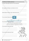 Die Bremer Stadtmusikanten: Text (mittel) und Aufgaben Preview 4