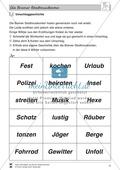 Die Bremer Stadtmusikanten: Text (mittel) und Aufgaben Preview 8