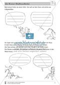 Die Bremer Stadtmusikanten: Text (leicht) und Aufgaben Preview 6