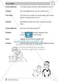 Frau Holle: Text (schwer) und Aufgaben Preview 11