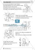 Frau Holle: Text (schwer) und Aufgaben Preview 1