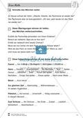 Frau Holle: Text (schwer) und Aufgaben Preview 8