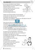 Frau Holle: Text (mittel) und Aufgaben Preview 1