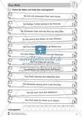 Frau Holle: Text (mittel) und Aufgaben Preview 2