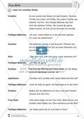 Frau Holle: Text (mittel) und Aufgaben Preview 8