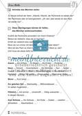 Frau Holle: Text (leicht) und Aufgaben Preview 7