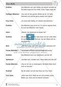 Frau Holle: Text (leicht) und Aufgaben Preview 9