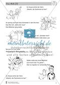 Frau Holle: Text (schwer) Preview 2