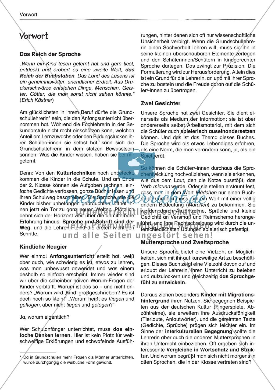 """Sprachspiele - Wortspiele: """"Sprachen lernen - Abzählreime"""" - Arbeitsblätter + Übungen Preview 1"""