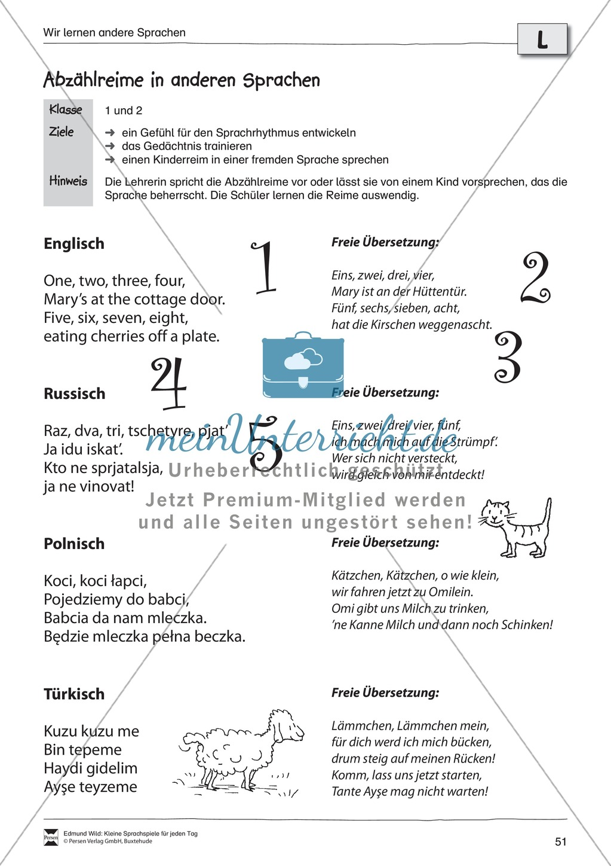 Sprachspiele - Wortspiele: \