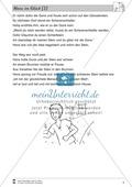 Hans im Glück: Text (mittel) und Aufgaben Preview 2