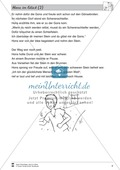 Hans im Glück: Text in drei Niveaustufen Preview 3