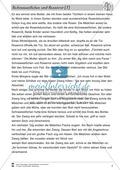 Deutsch, Literatur, Lesen, Non-Fiktionale Texte, Leseverstehen und Lesestrategien, Fiktionale Texte, Umgang mit fiktionalen Texten, Textverständnis, Epik, Analyse fiktionaler Texte, Gattungen, Märchen, Schneeweißchen und Rosenrot