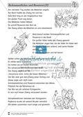 Schneeweißchen und Rosenrot: Differenzierungsstufe 3: Lesetext und Arbeitsblätter Preview 2