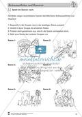 Schneeweißchen und Rosenrot: Differenzierungsstufe 2: Lesetext und Arbeitsblätter Preview 5