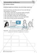 Schneeweißchen und Rosenrot: Differenzierungsstufe 1: Lesetext und Arbeitsblätter Preview 4