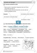 Differenzierungsstufe 2: Märchentext mit Aufgaben Preview 6