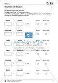 Wörterbuch - Nachschlagetechniken: Arbeitsblätter + Aufgaben + Übungen + Lösungen Preview 2