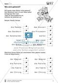 Wörterbuch - Nachschlagetechniken: Arbeitsblätter + Aufgaben + Übungen + Lösungen Preview 9