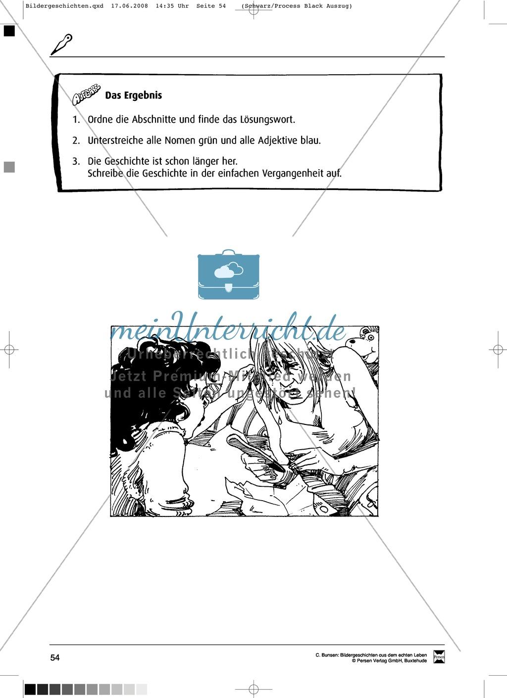 Materialsammlung Teenager-Schwangerschaft: Bilder, Arbeitsblätter und Schmuckblatt Preview 8