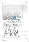 Wissenstest zur Haut: Arbeitsblatt Preview 1
